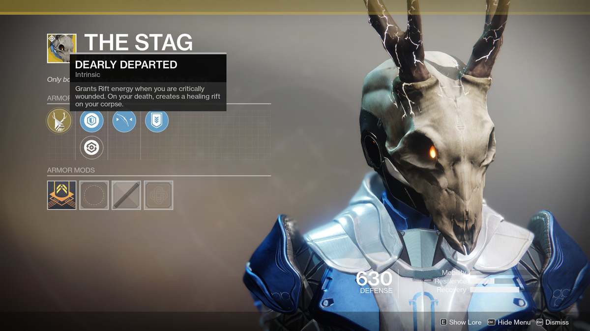 The Stag Exotic Destiny 2