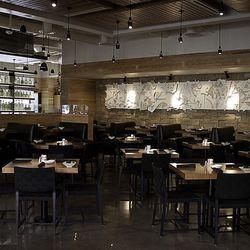 The dining room at Cantina Laredo.