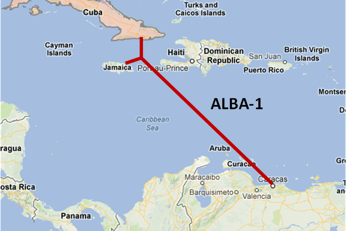 Cuba may have turned on its first underwater internet cable