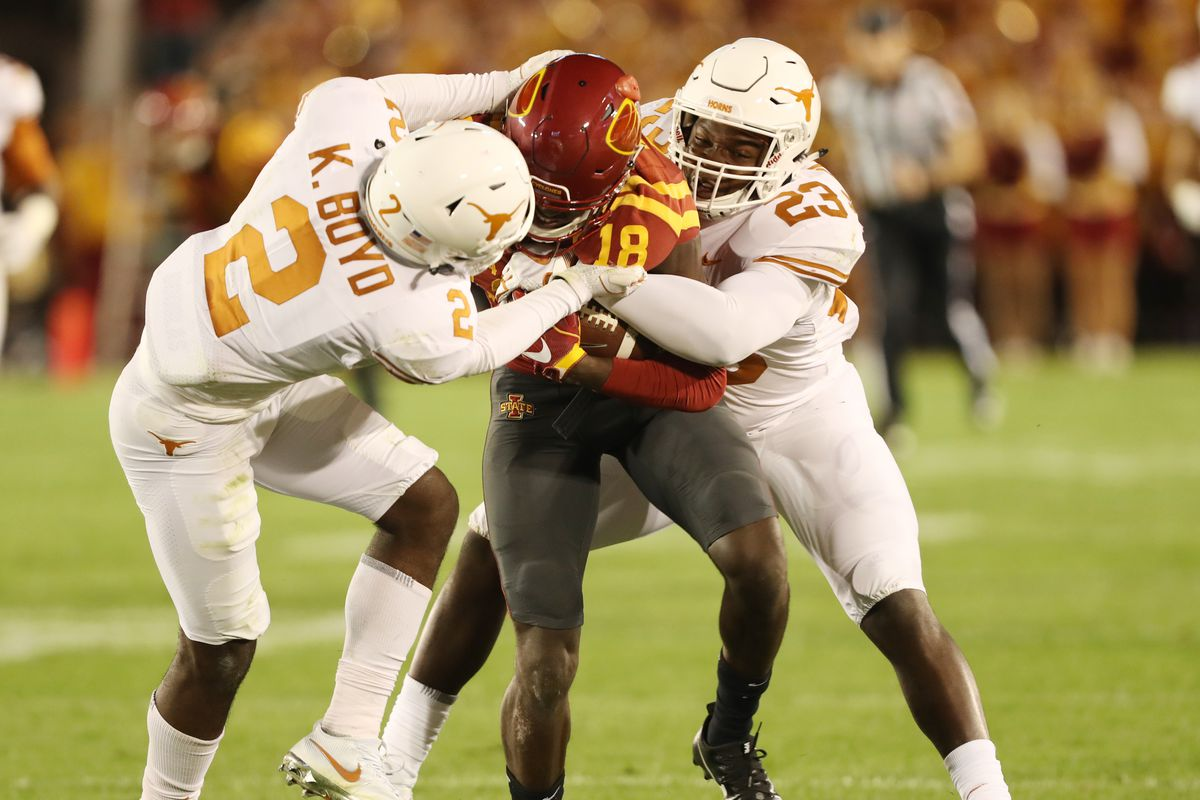 2018 Game X   18 Iowa State vs.  13 Texas Football Preview - Wide ... 3a709ad51