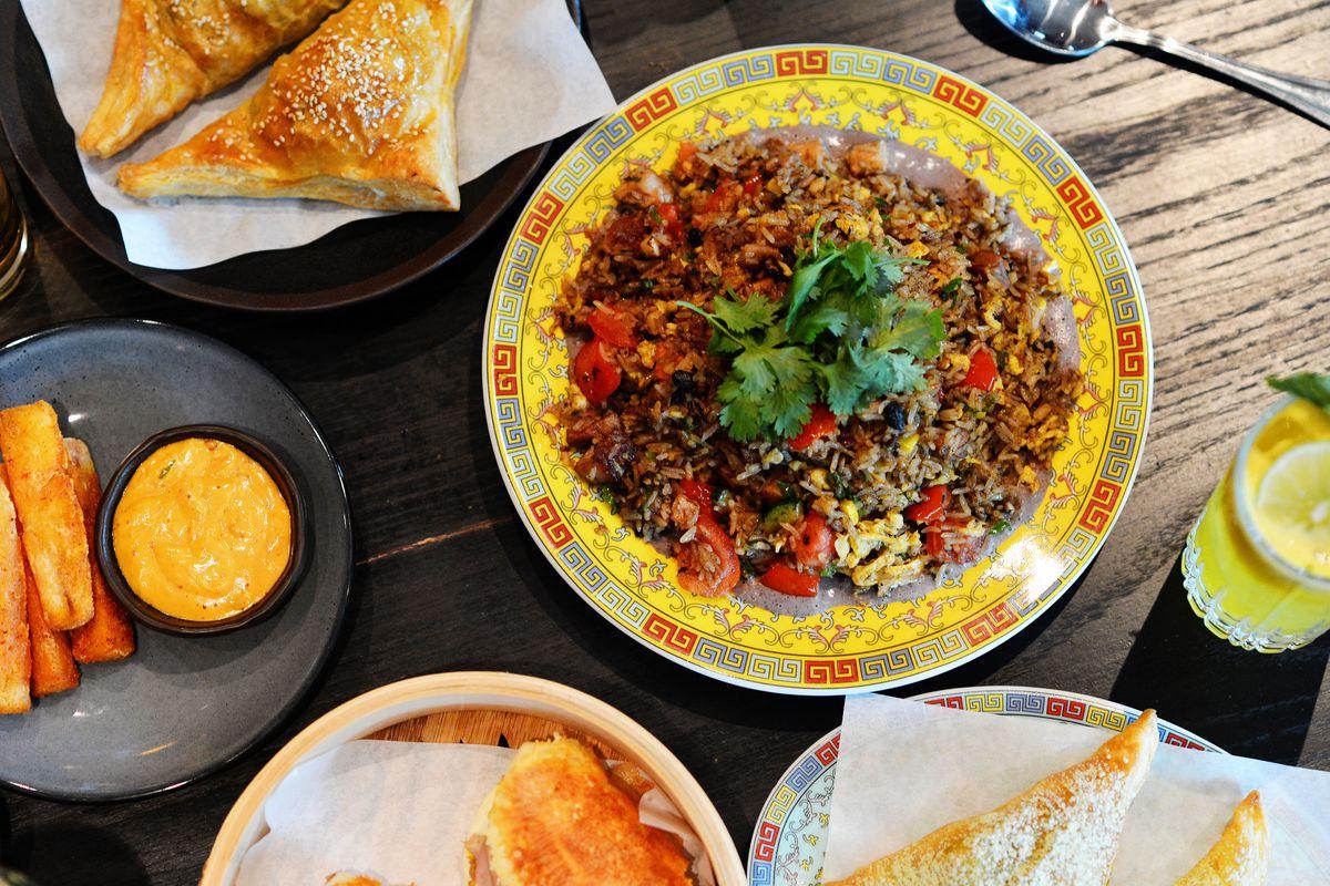 Adam Brick's Chino-Cubano dishes