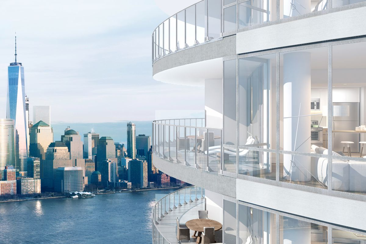 Jersey City S Priciest Rental Is This 11k Month Penthouse