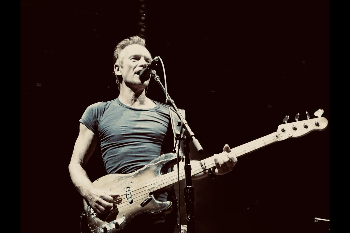 """Backed by the Utah Symphony, Sting will perform his greatest hits — everything from """"Roxanne"""" to """"Fields of Gold"""" —on Aug. 31 at USANA Amphitheatre in West Valley City."""