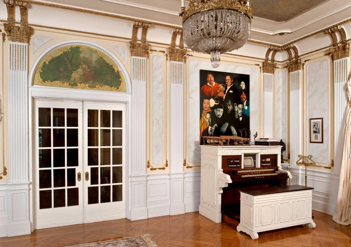 Interior of Villa Lewaro