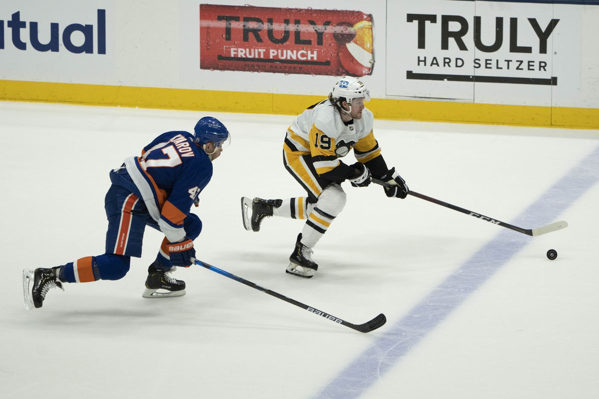 NHL: MAY 26 Stanley Cup Playoffs First Round - Penguins at Islanders