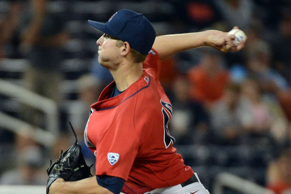 Konner Wade was taken in the seventh round by the Colorado Rockies in the 2013 MLB Draft