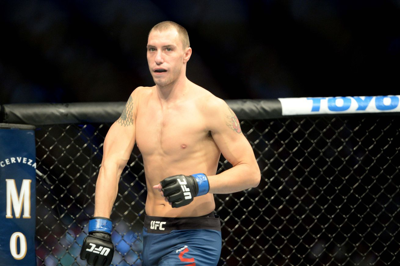 James Vick (pictured) ahead of his fight with Justin Gaethje at UFC Lincoln on Saturday