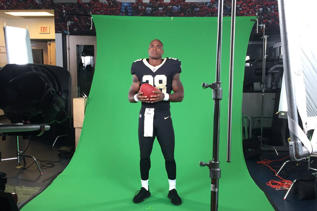 best sneakers 4f917 6c35d New Orleans Saints news: Players strike a pose for team's ...