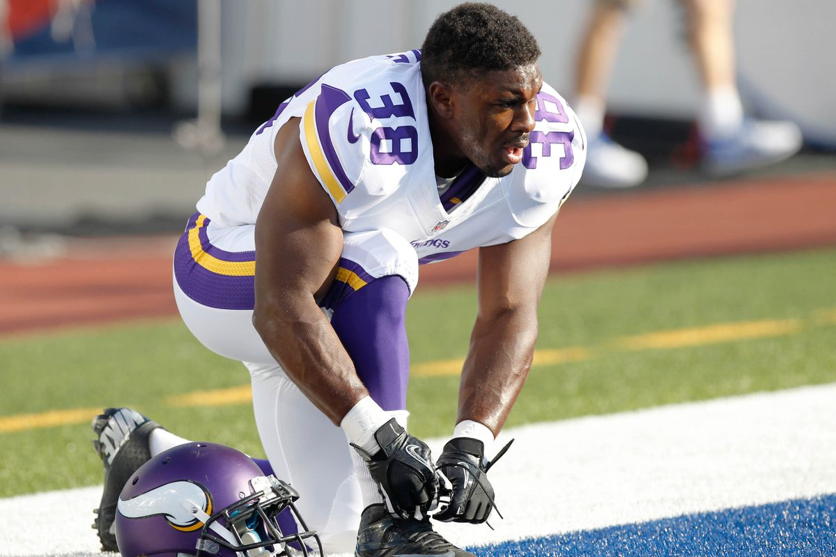 Backup running back and underdog fan favorite Bradley Randle was among four players waived by the Vikings.