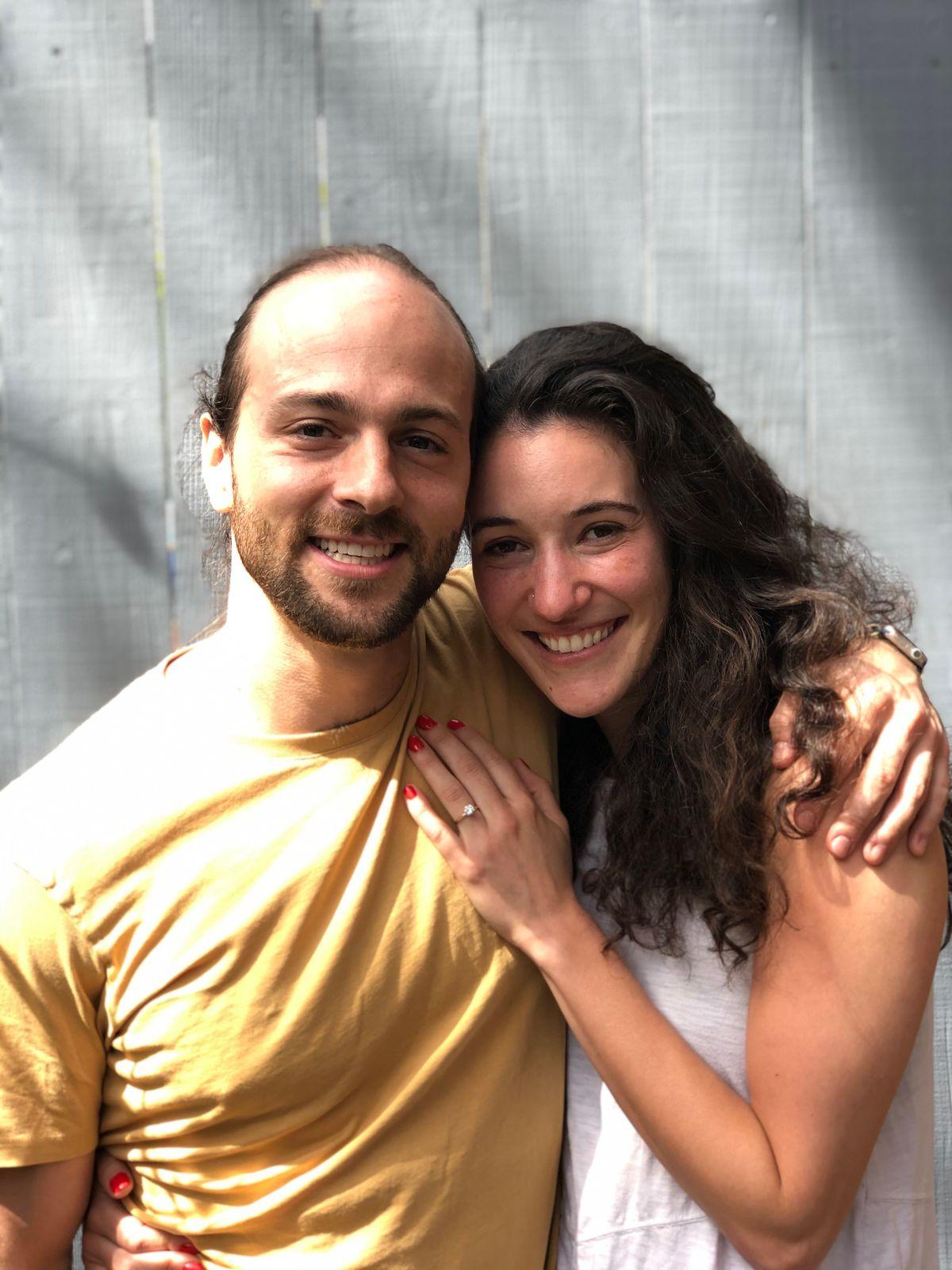Surprise proposal at Souvla