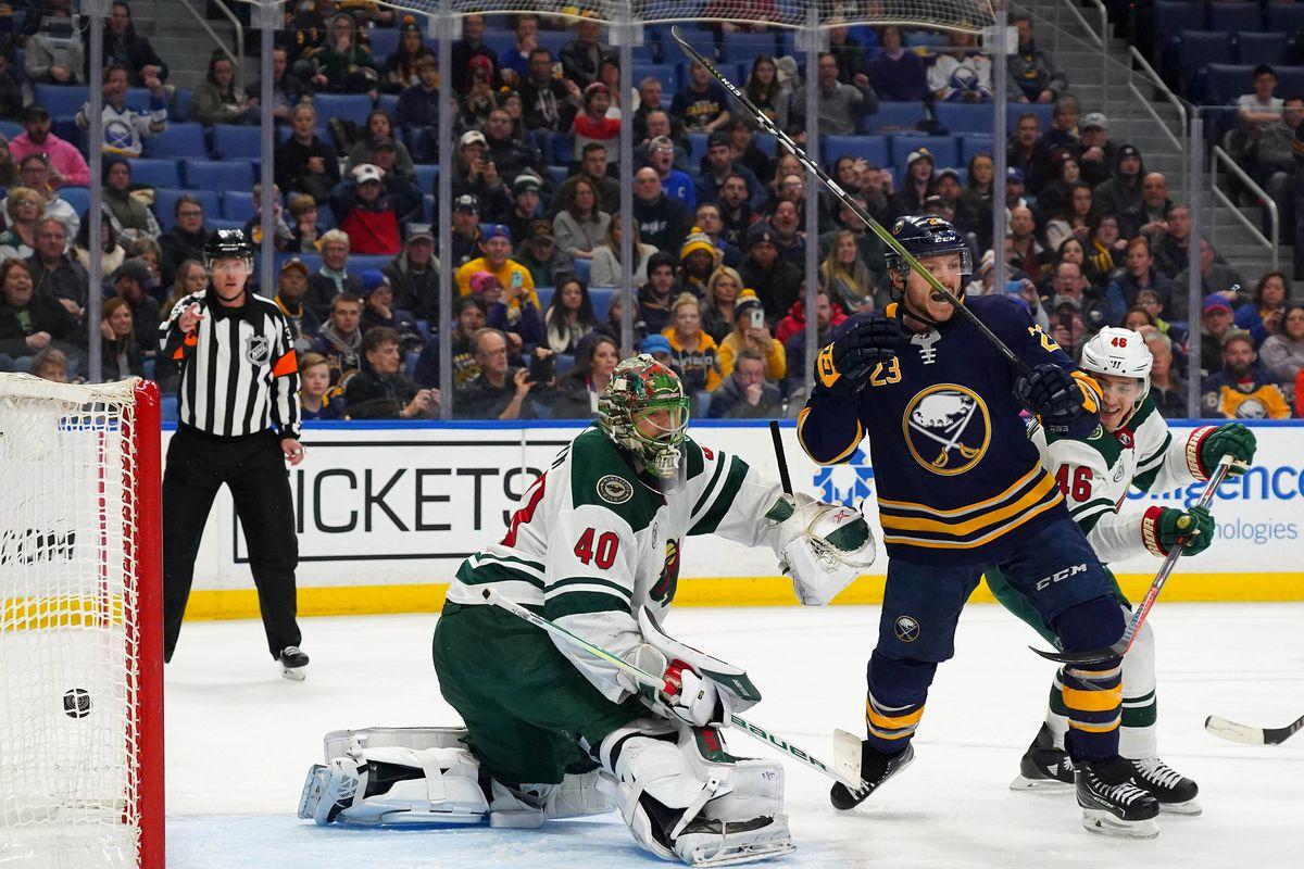 NHL: Minnesota Wild at Buffalo Sabres
