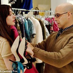 When you're a big enough deal, you don't pay for your own clothes. They're gifted to you. Or you have major hookups in or around the Vogue closet. Devil Wears Prada (2006)