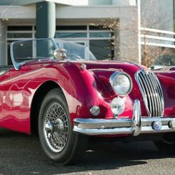 Elegance meets artistic functionality in my 1955 Jaguar XK140MC and 858XLSLC (as recently seen in GQ Magazine!)