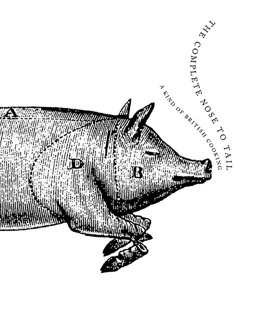 The Complete Nose to Tail by Fergus Henderson, one of the best cookbooks chosen by Eater writers