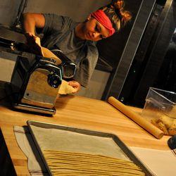 Making bread at Culinary Dropout. Photo by Susan Stapleton