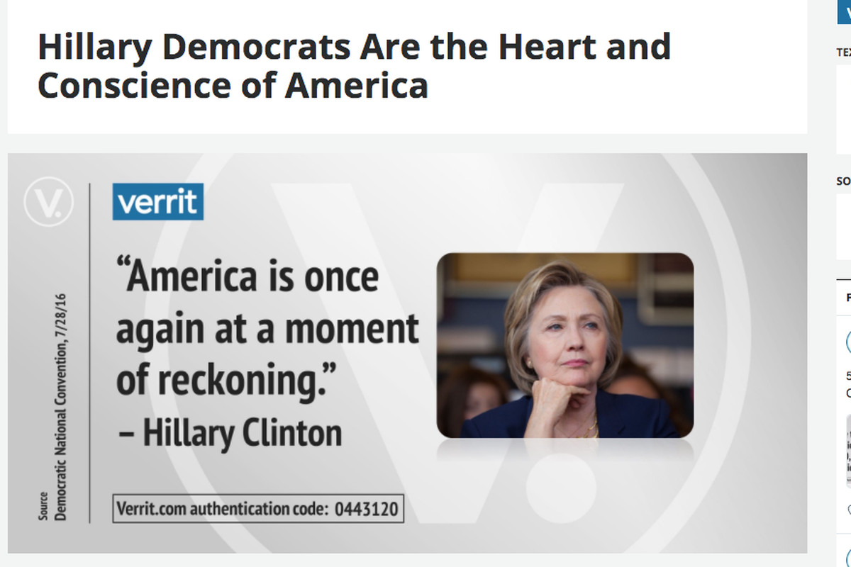 Verrit the new website for Hillary Clinton superfans explained Vox