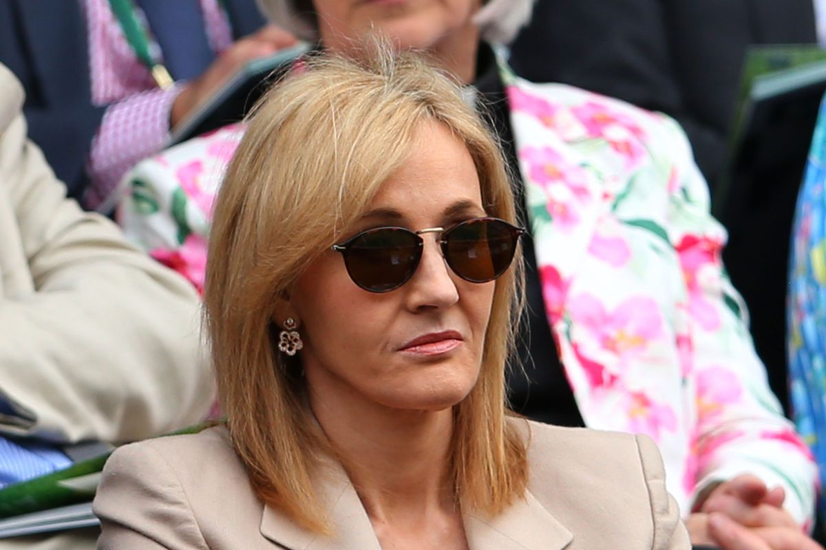 J. K. Rowling suggests you reconsider that tweet.