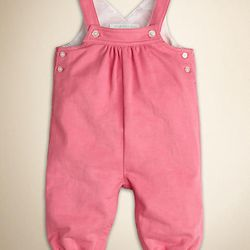 """<i>Check-Lined Cotton Dungarees at <a href=""""http://us.burberry.com/check-lined-cotton-dungarees-p39019791"""">Burberry</a> (2 Newbury St., Boston)</i> <br> What mini-anglophile's wardrobe would be complete without a little bit of a certain iconic check? Yo"""