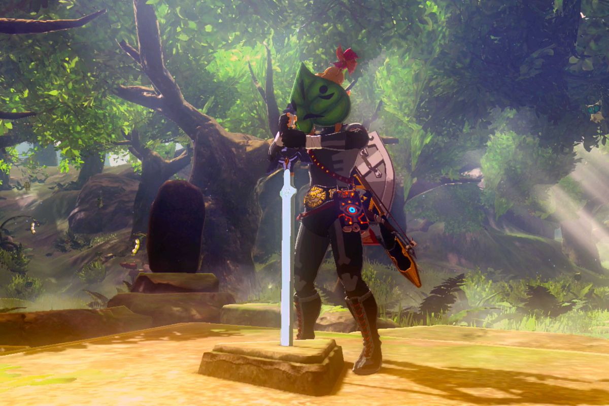 Zelda Breath Of The Wild Guide Trial Of The Sword Beginning Trials