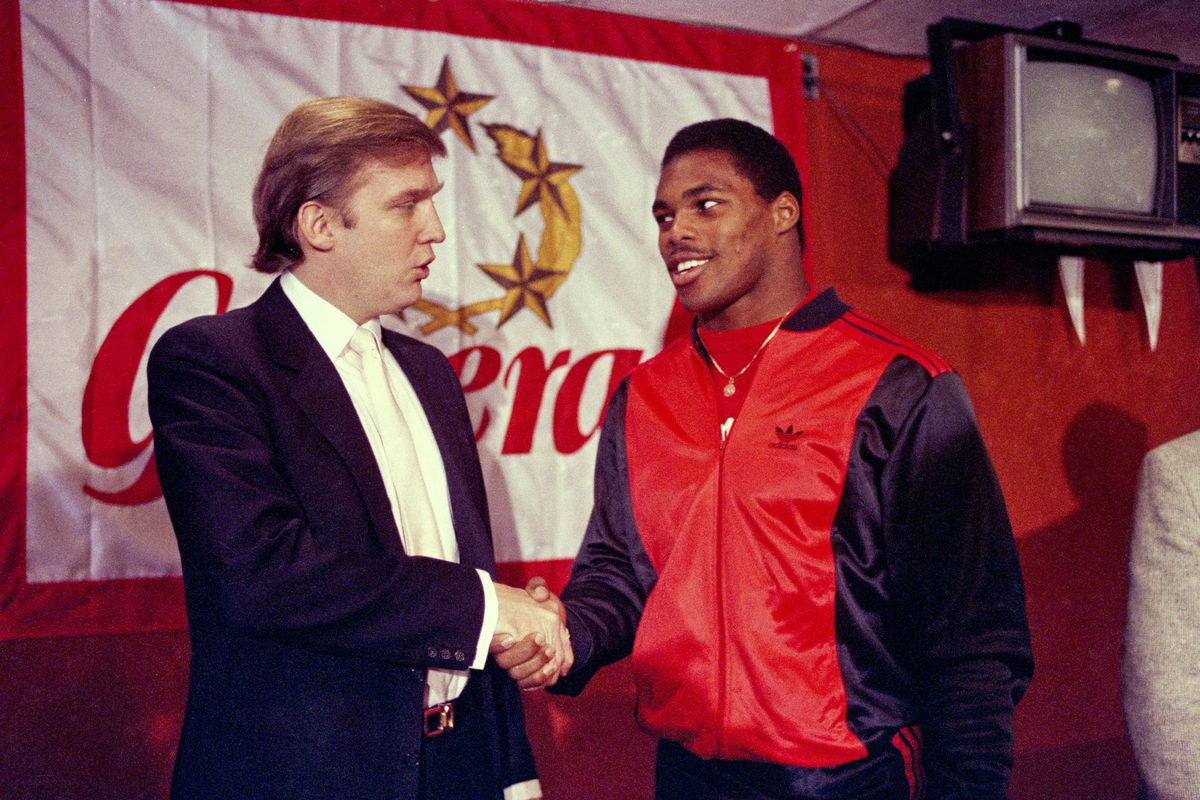 A new version of the USFL plans to start play next year — presumably without Donald Trump and Herschel Walker.