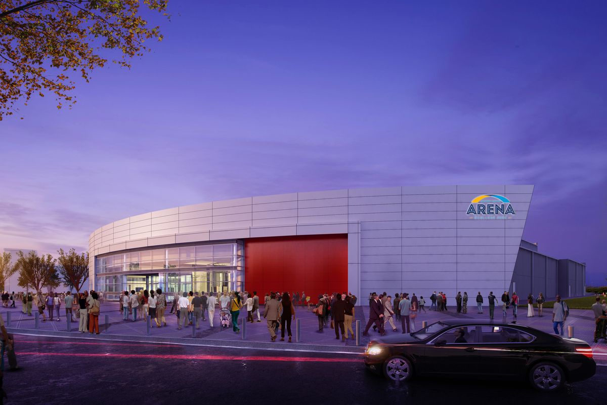 College Park's Gateway Center Arena on track for fall debut