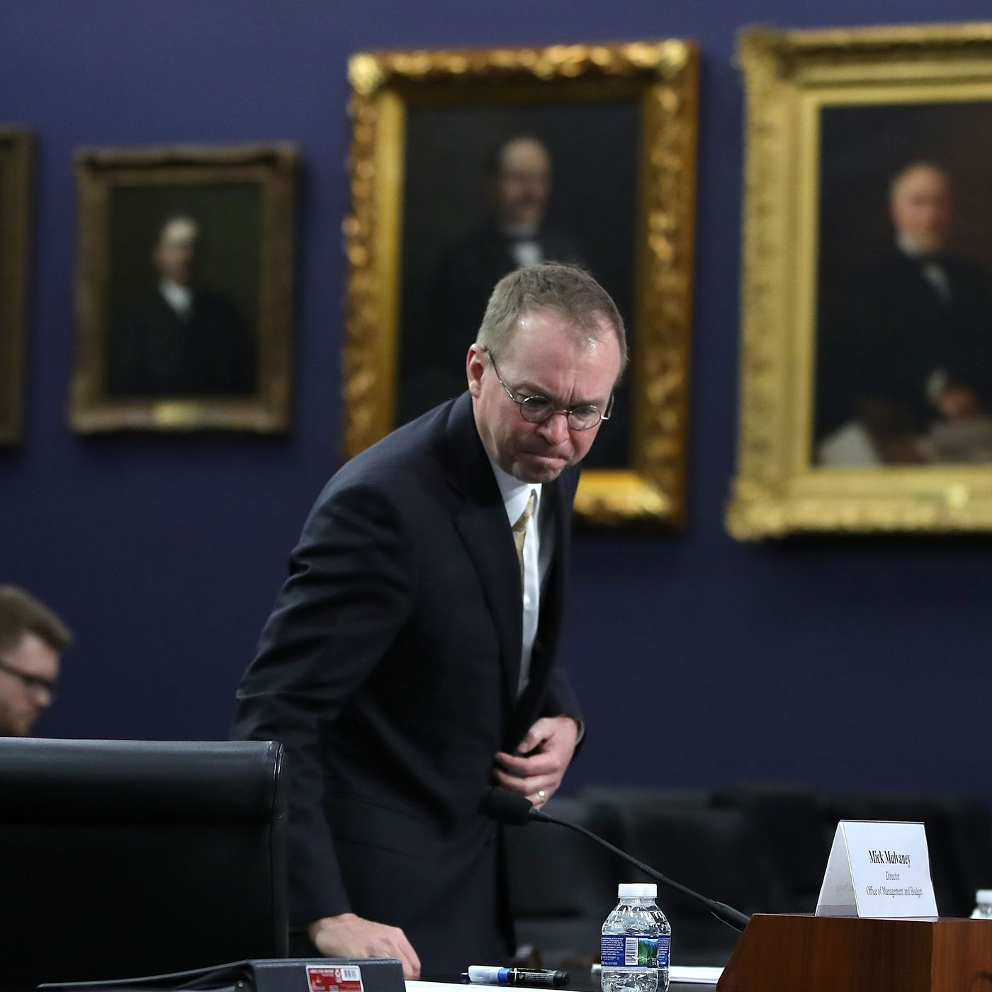 vox.com - Emily Stewart - Mick Mulvaney says in Congress, he only talked to lobbyists who gave him money