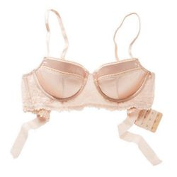 """<strong>Aerie</strong> Holly Bow Longline Pushup Bra, <a href=""""http://www.ae.com/aerie/browse/product.jsp?productId=2737_4059&catId=cat6880267&bundleCatId=cat6880268"""">$30</a> (was $49.95)"""