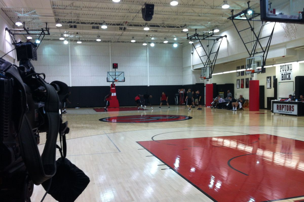 Yesterday marked the fourth straight day of pre-draft workouts for the Toronto Raptors.