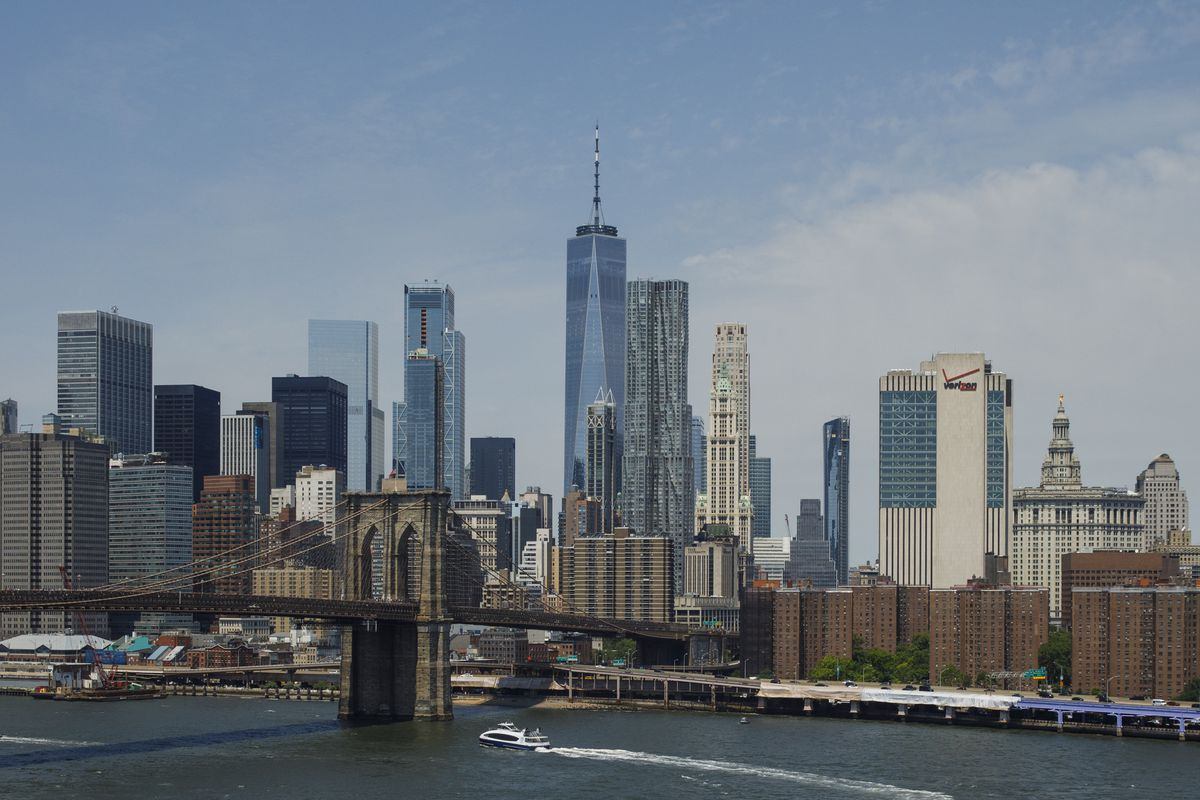 Mass Of Jet Skiers Gather For Ride In New York's East River