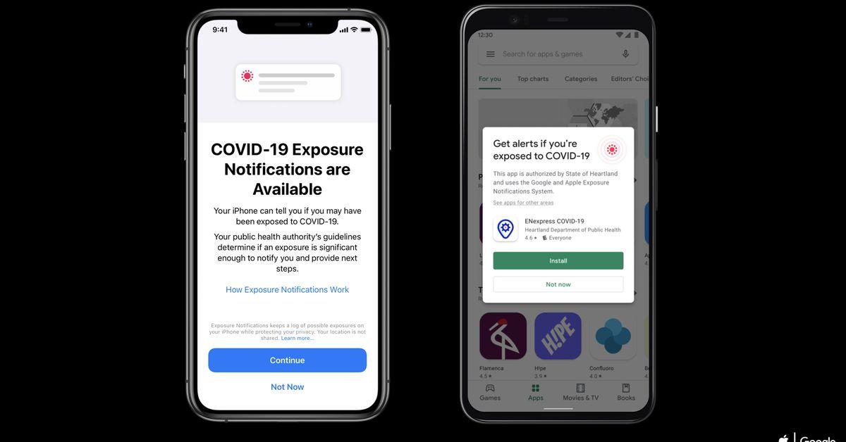Nếu đã nâng cấp lên iPhone 12 hoặc 12 Pro, bạn có thể phải bật lại thông báo phơi sáng COVID-19