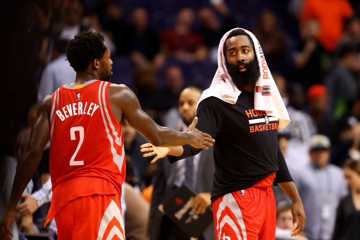 600b9dde3c33 NBA trade rumors  Is trading James Harden a better move than trading  Patrick Beverley