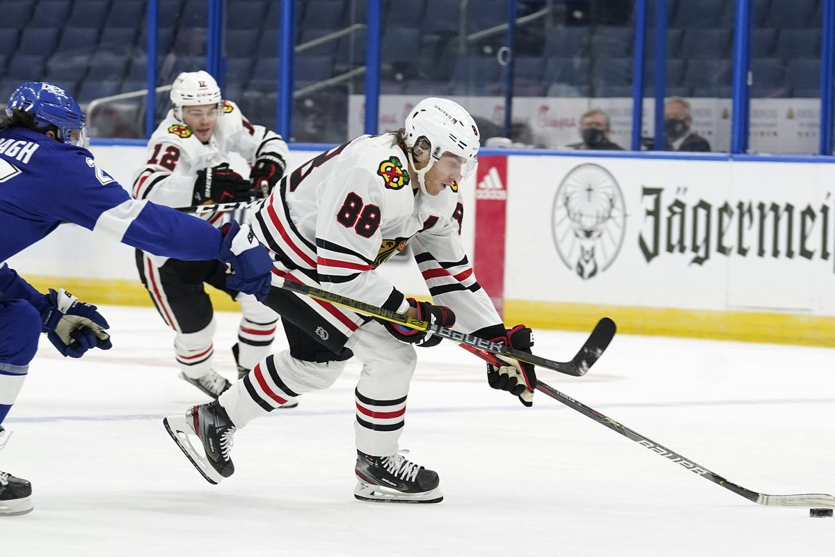 The Blackhawks' game against the Lightning on Thursday will be their first meeting since Jan. 15 and 17.
