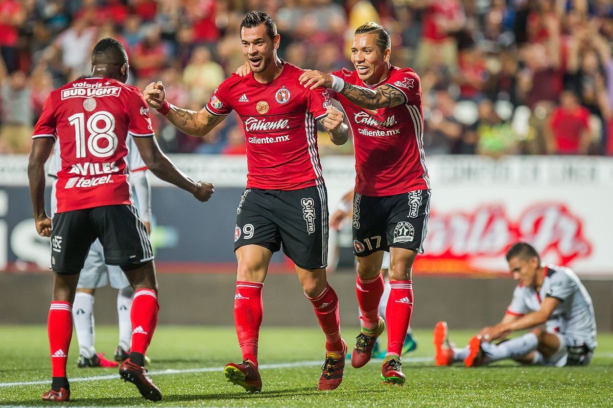 Dayro Moreno, Avilés Hurtado, and Milton Caraglio were the offensive engine of Xolos in 2016.