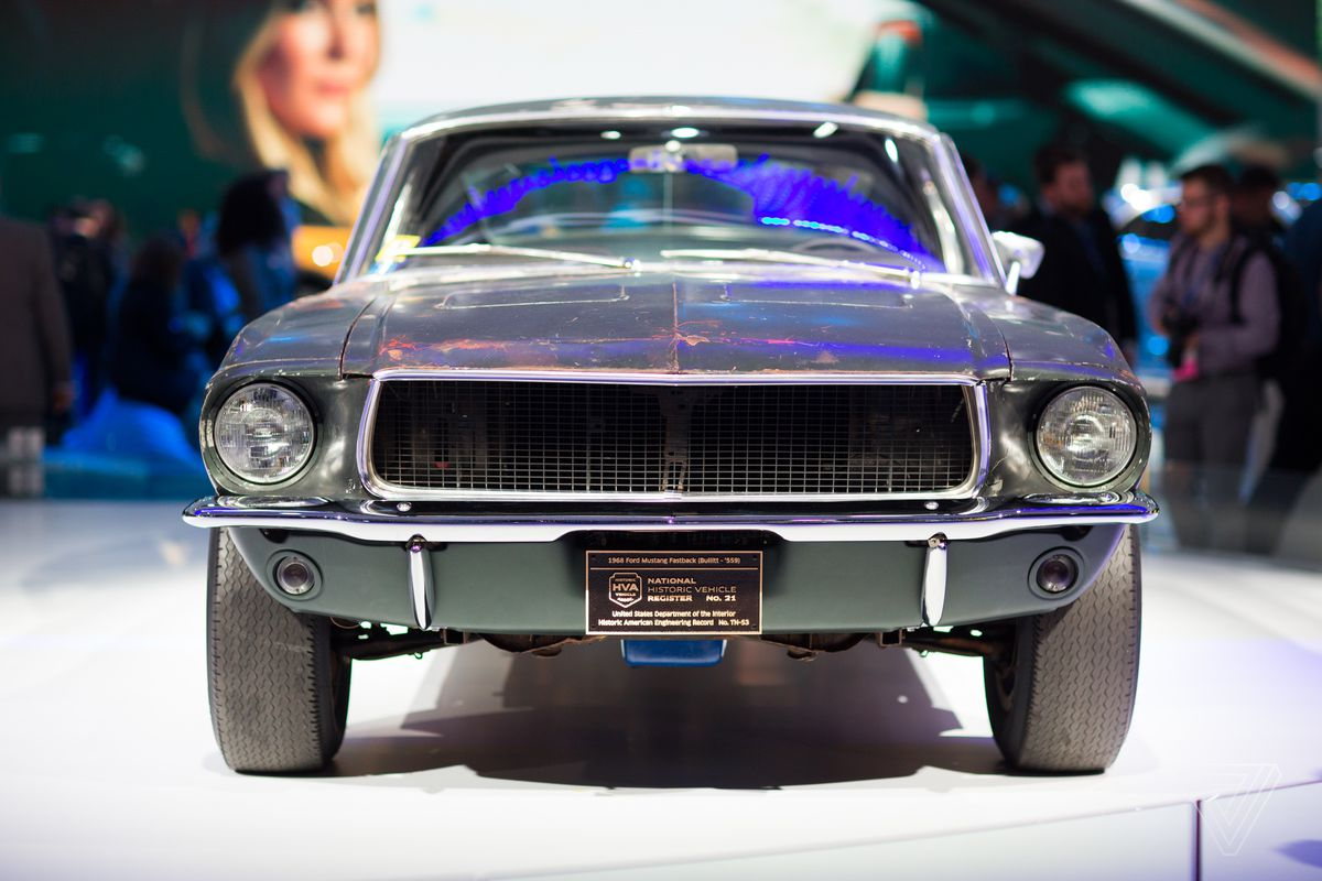 Photo by sean okane the verge the original 1968 mustang bullitt