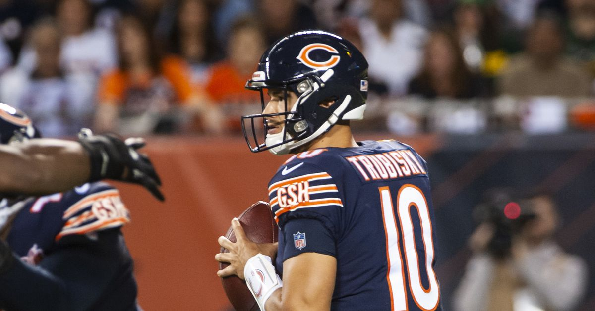 Bears QB Mitch Trubisky is ready to turn the page after Packers loss, long, weird weekend