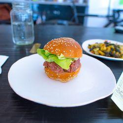 """Beef Tartare sandwich from M. Wells Dinette by <a href=""""http://www.flickr.com/photos/jmoranmoya/8070647677/in/pool-eater"""">jmoranmoya</a>"""