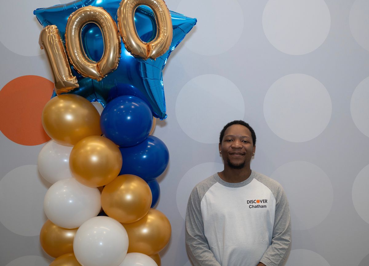 Brock Thurman, 24, of Austin, was able to get his own apartment in Lincoln Park, after being hired as an account specialist at Discover's new Chatham office in June.The office, a bit of a unicorn, sited in a disinvested South Side community, is beating other Discover offices nationwide in customer satisfaction surveys, and retention.