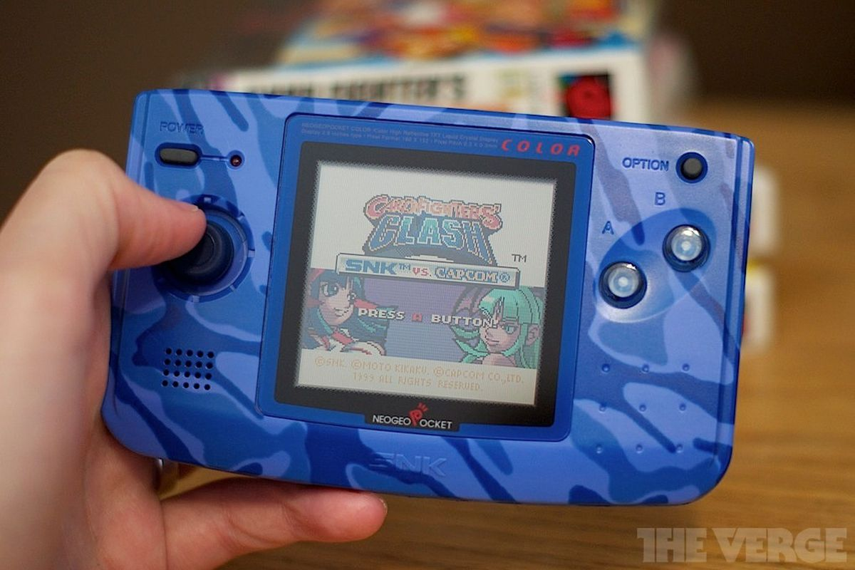 Status Symbols Neo Geo Pocket Color The Verge