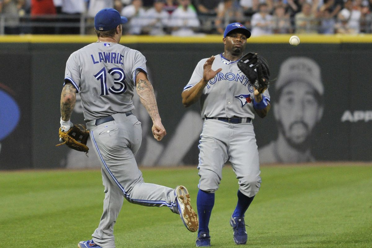 Lawrie: Whoop! You take it! Davis: Whoa whoa whoa.... Hold your horses. I didn't sign up for this.