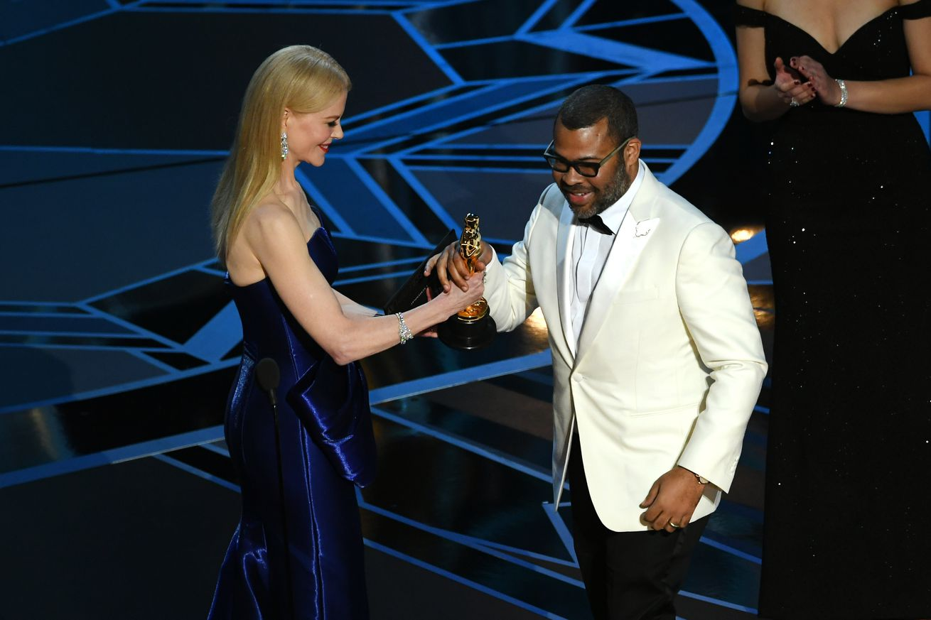 get out wins the academy award for best original screenplay