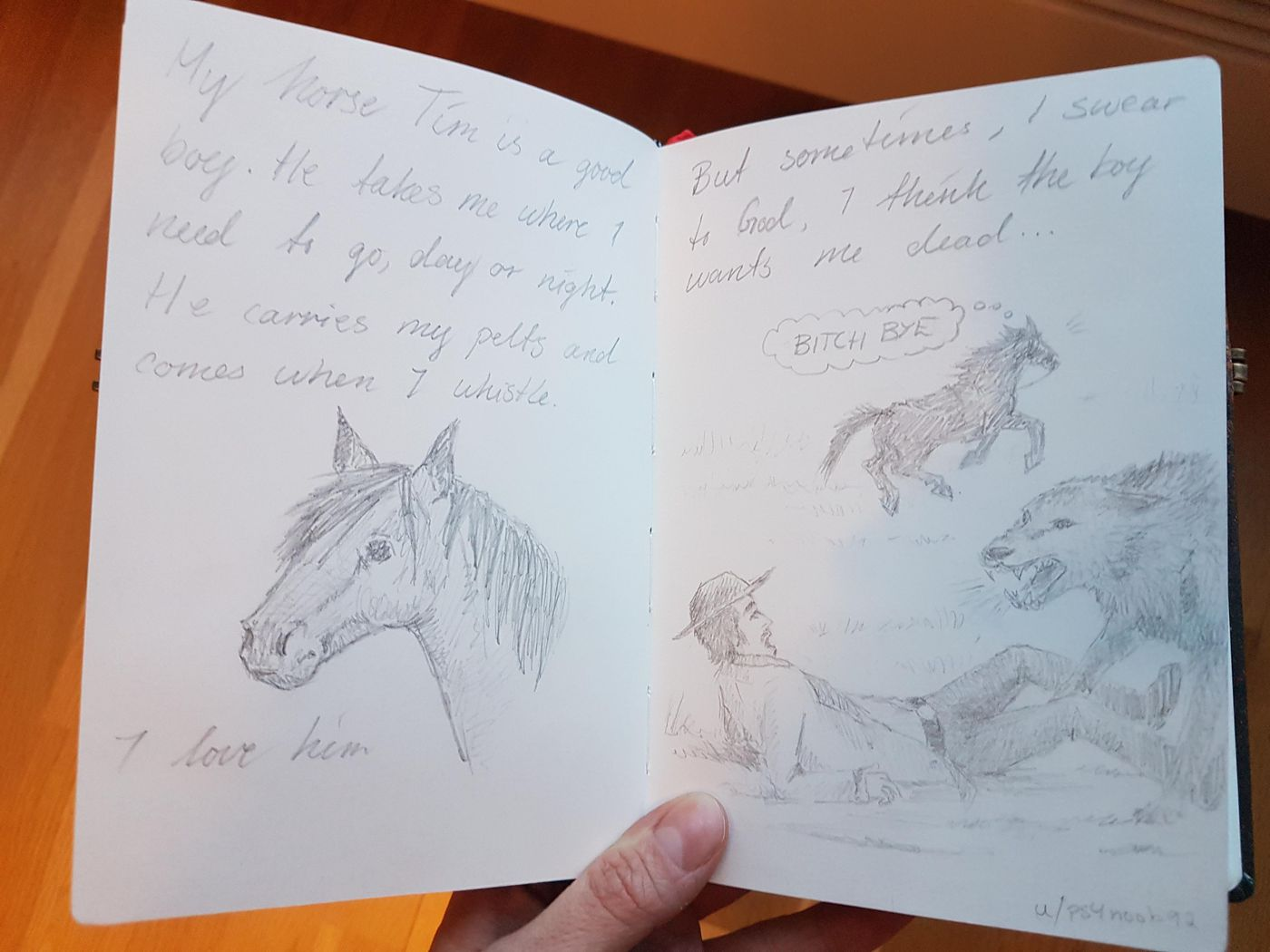 This Red Dead Online Player Is Keeping His Own Arthur Style Journal