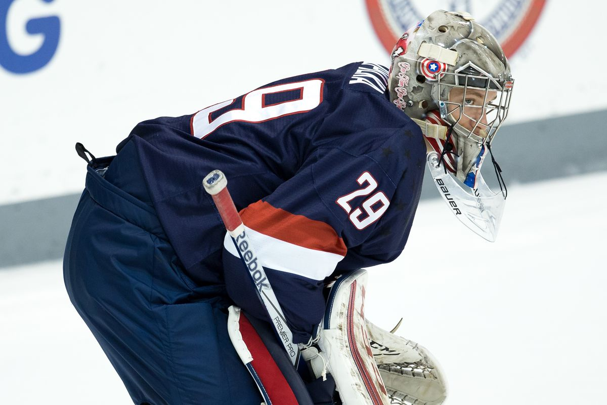 Luke Opilka was ranked as the No. 5 North American goaltender by NHL Central Scouting.