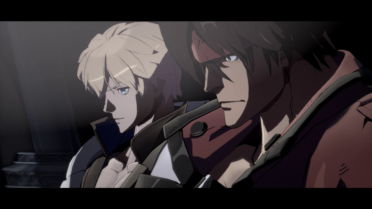 Two characters in Guilty Gear Strive
