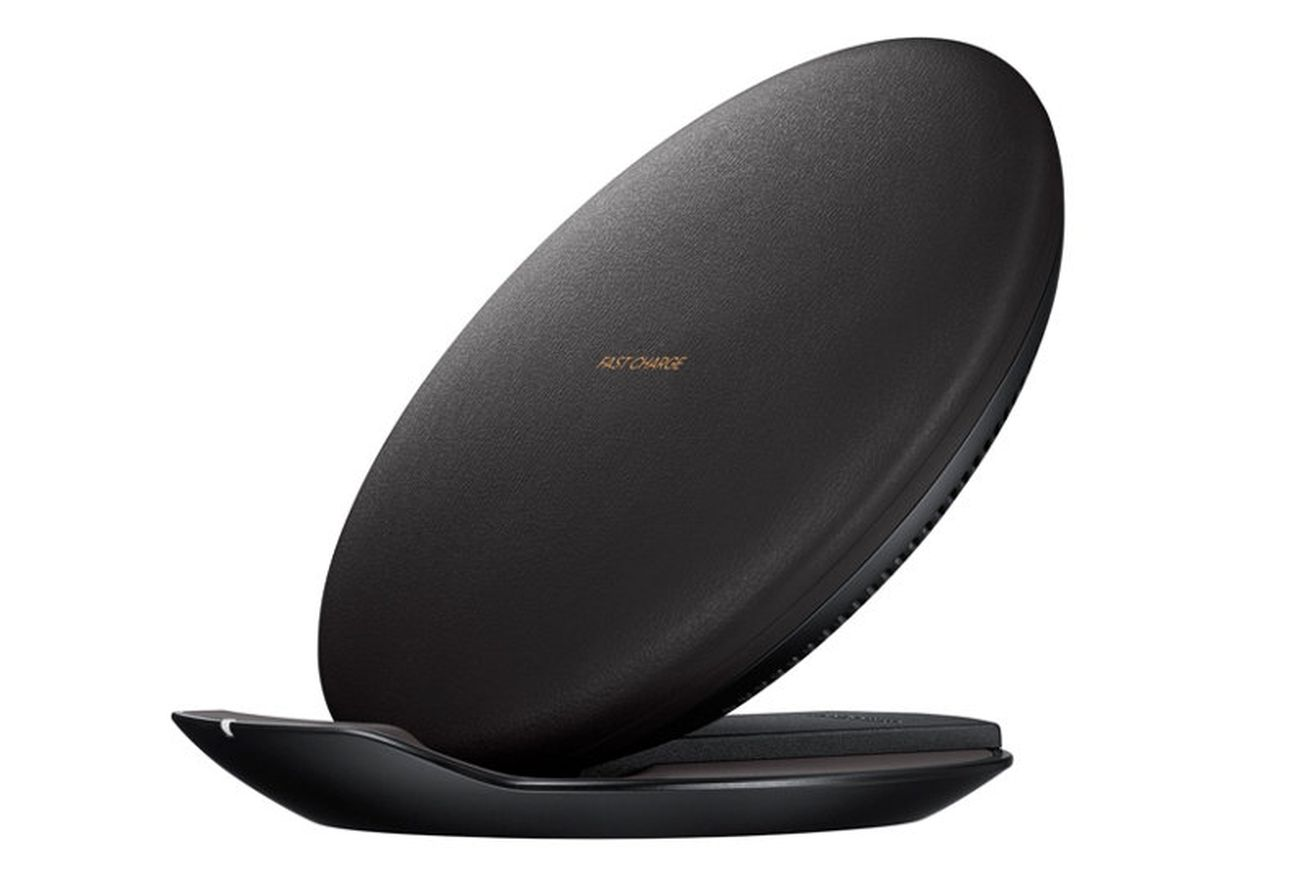 samsung makes my favorite wireless charger for the iphone x