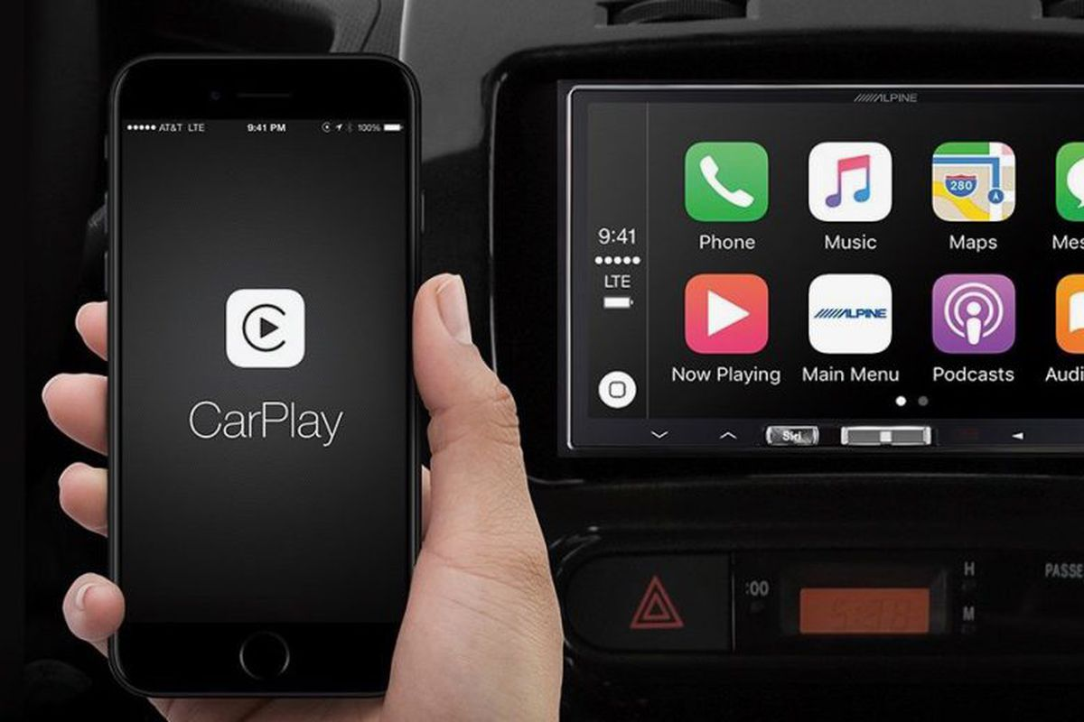 alpine s aftermarket wireless apple carplay receiver is. Black Bedroom Furniture Sets. Home Design Ideas