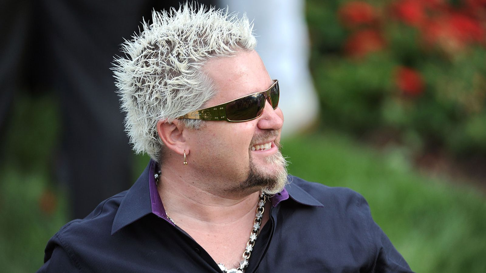 Guy fieri stops by seoul food during nba all