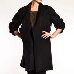 "<b>Alasdair</b> Wool Shawl Collar Coat, <a href=""https://frenchgarmentcleaners.com/catalog/womens/products/f13-wool-shawl-collar-coat"">$1,100</a> at French Garment Cleaners"