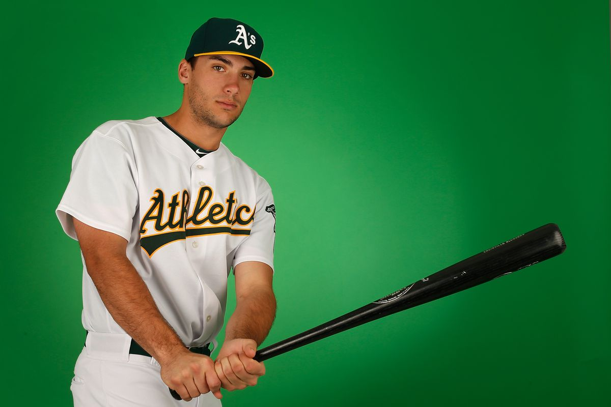 Matt Olson has been invited to his second major league camp.