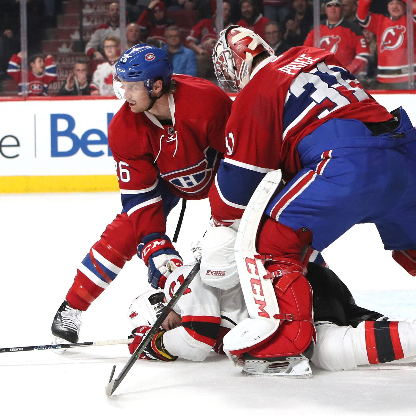 Carey Price Violated Rule 51 3 And Continued To Play Against Devils All About The Jersey