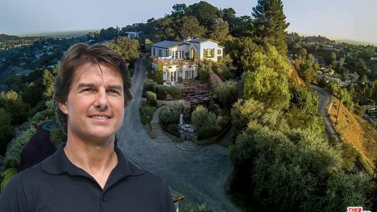 Tom cruise sells his european style laurel canyon house for Laurel house